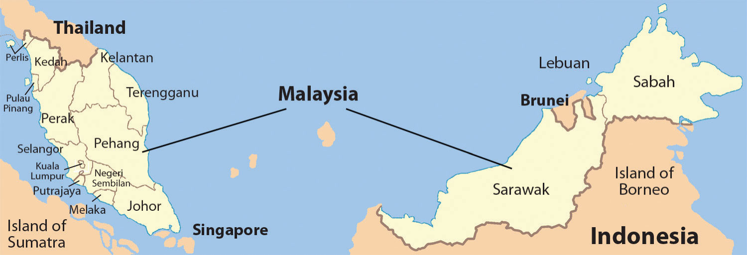 The Insular Region Islands of Southeast Asia