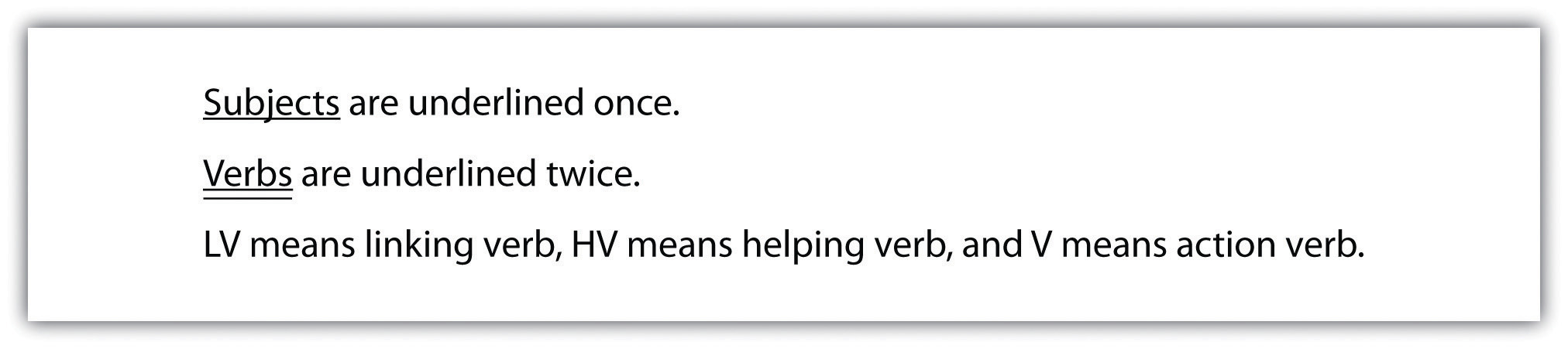 writing basics what makes a good sentence tip