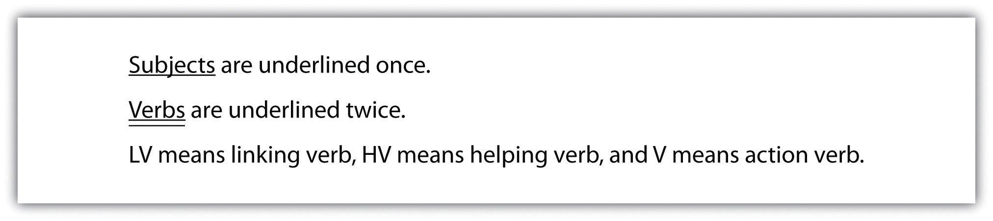 writing basics what makes a good sentence tip