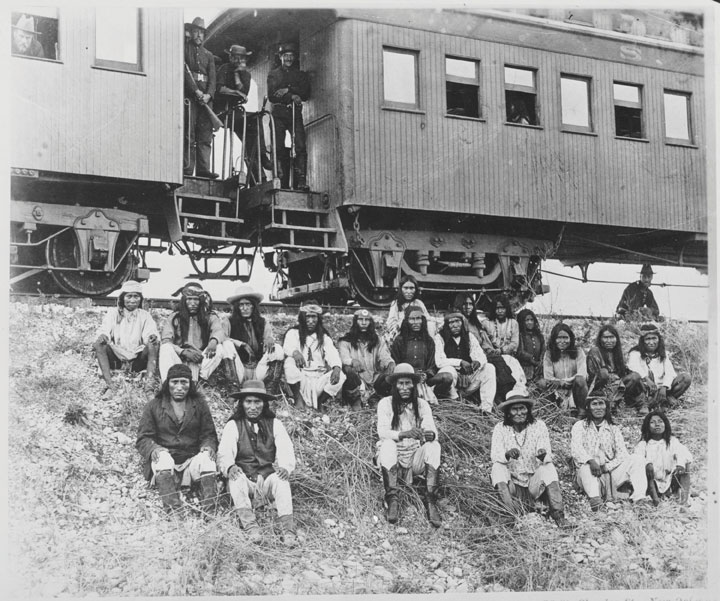 How did the Tranconinental Railroad affect the Native Americans.?