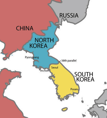 south north division in korea 2013-3-23 timeline: north korea's past a look at key dates in this nation's past, starting with its division from the south.