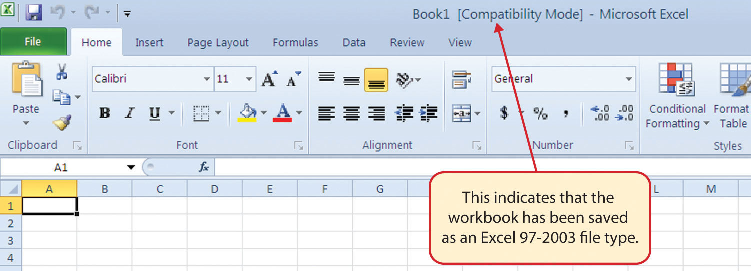 how to change excel file from compatibility mode